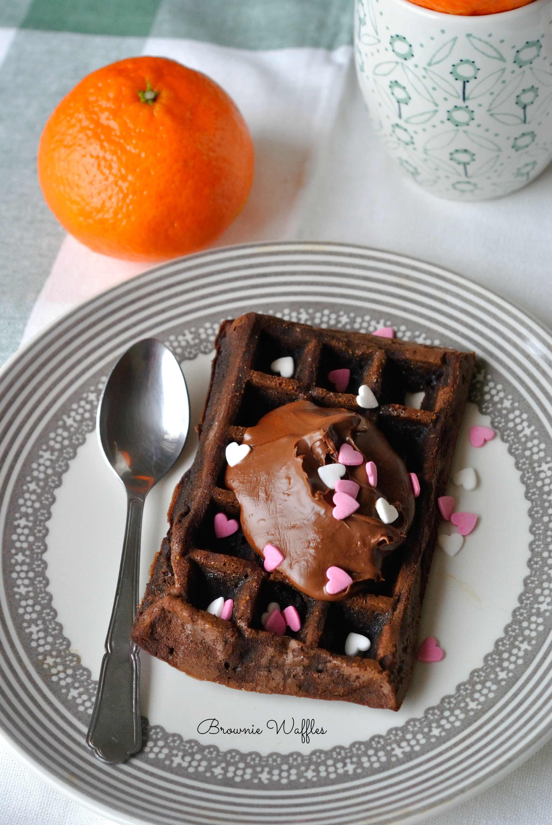 Brownie Waffles 1