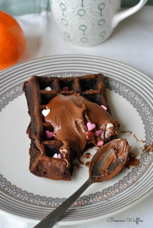 Brownie Waffles 3