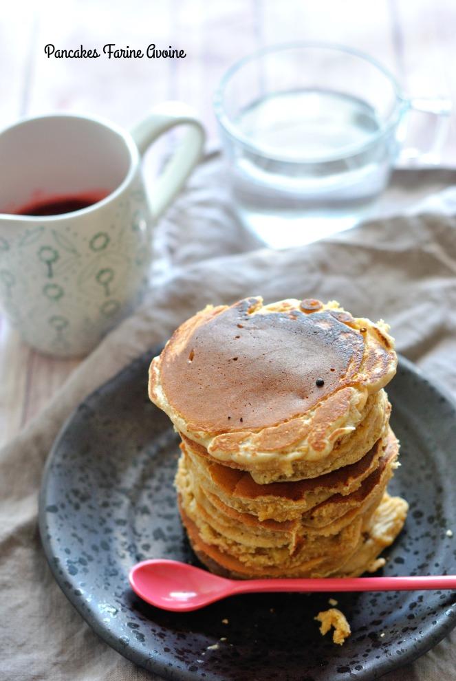 Pancakes Farine Avoine 1