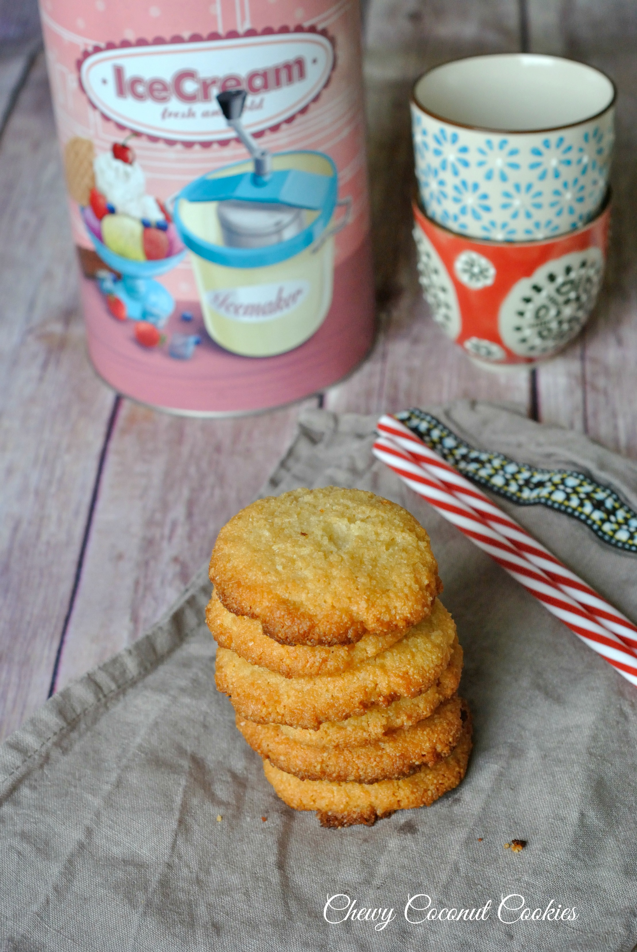 Chewy Coconut Cookies 1