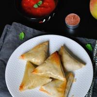 Semaine Végétarienne : Jour 1 : Samossas Bricks Indiennes