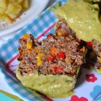 Semaine Végétarienne : Jour 2 : Terrine de Haricots Rouges & Légumes (Sauce Avocat)