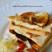 Grilled Cheese Raclette & Oignons Caramélisés