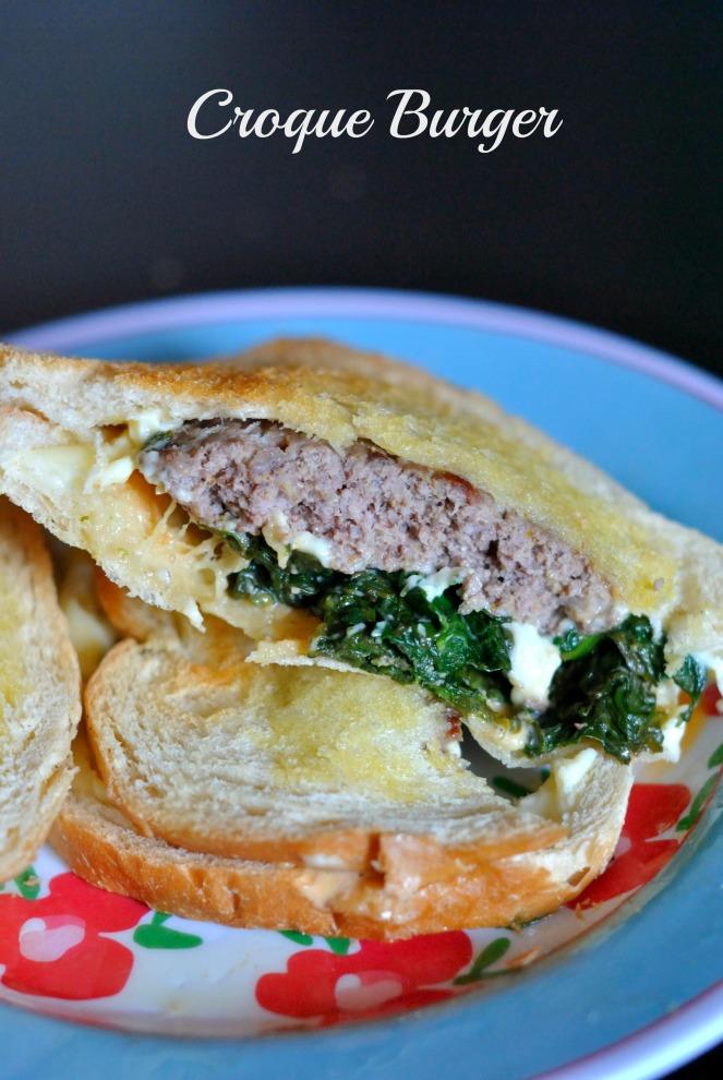 Croque Burger 2