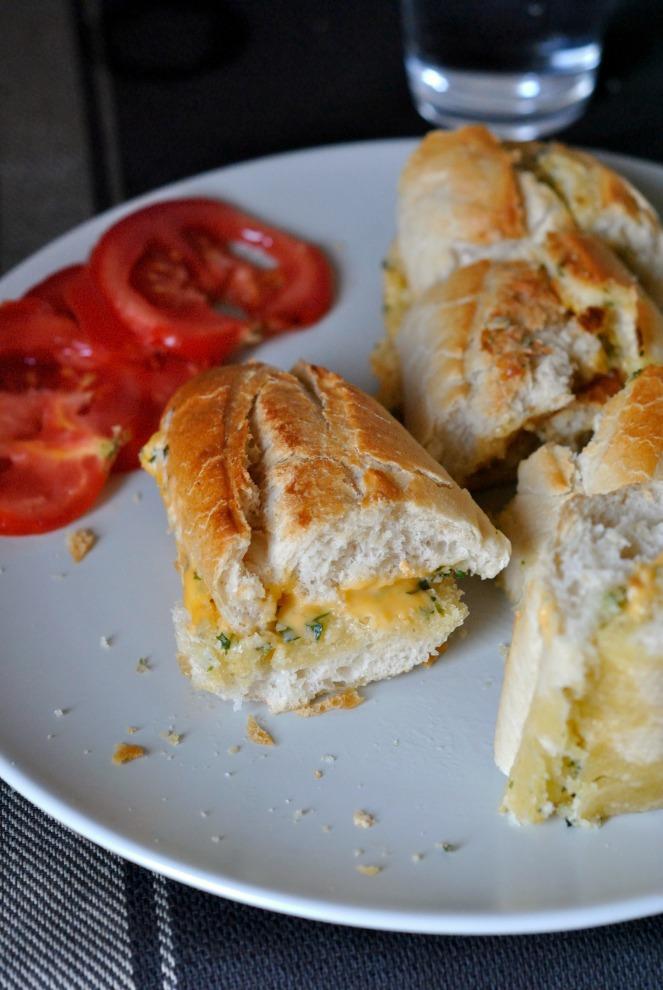pain à l'ail 1