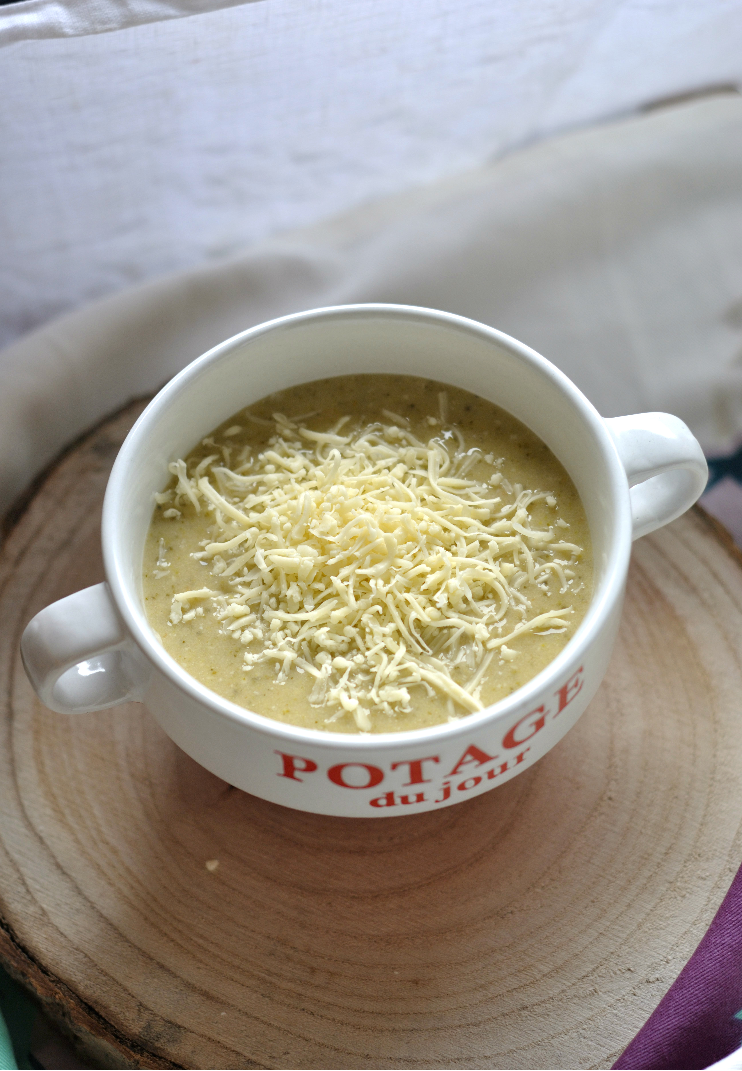 SOUPE broccoli fromage 1