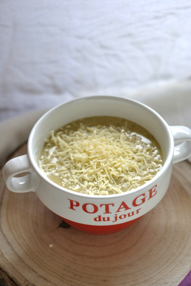 soupe broccoli fromage 2