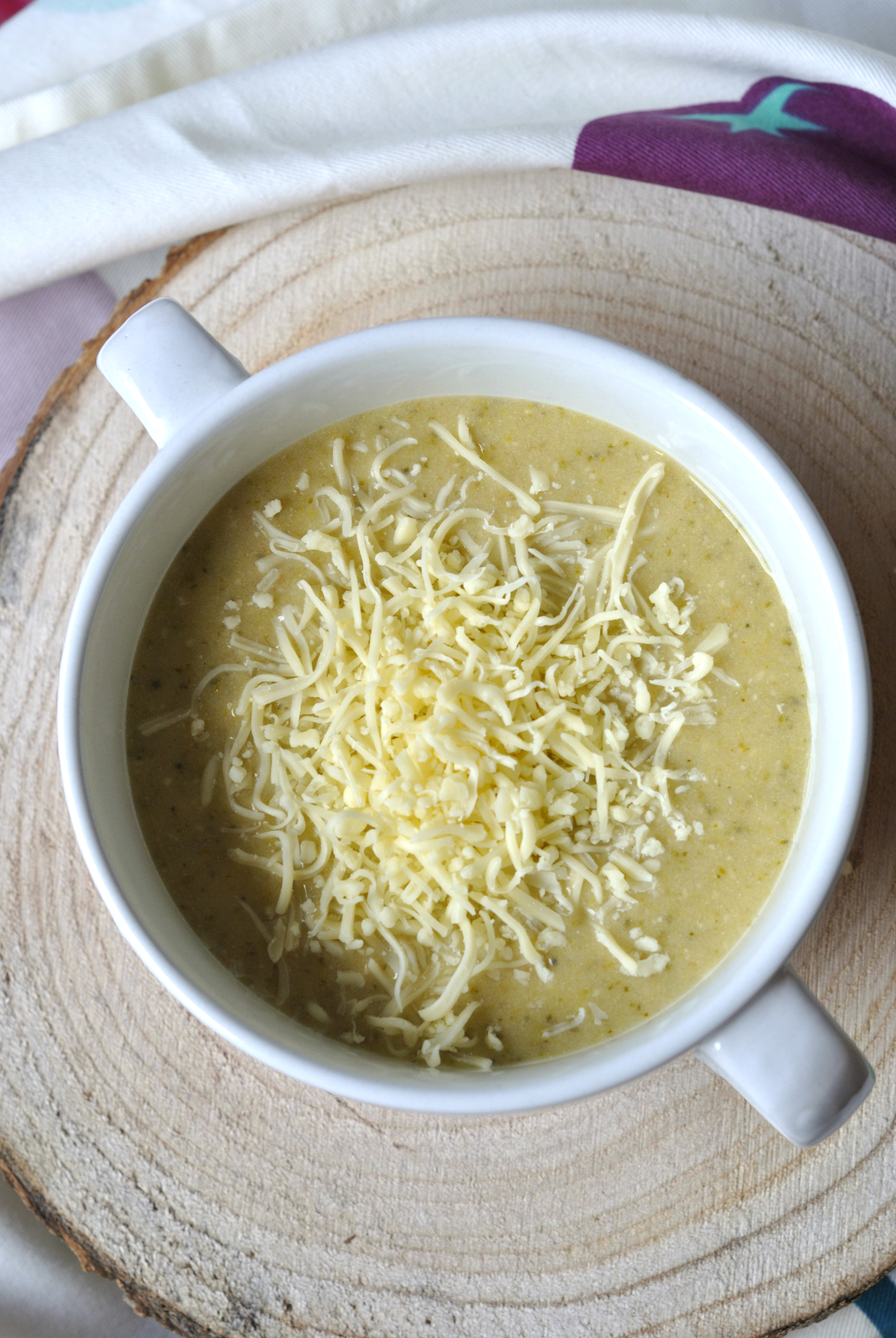 soupe broccoli fromage 3