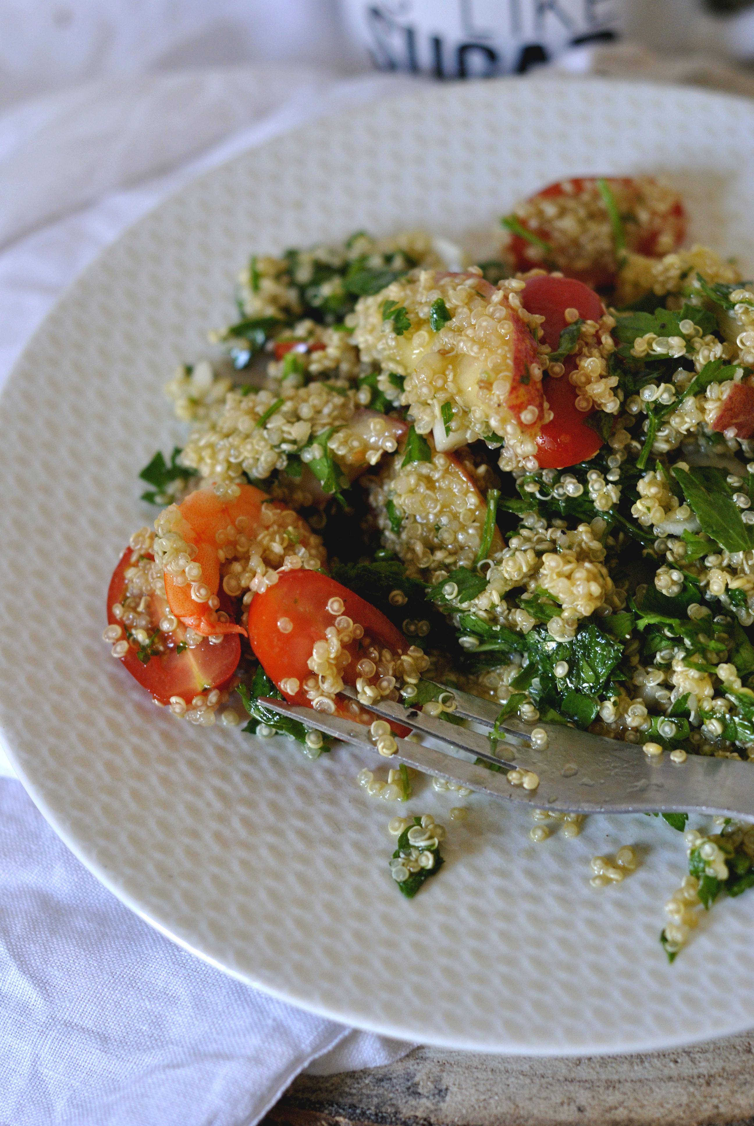 taboulé quinoa 2