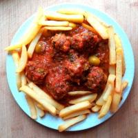 Tagine de keftas ( boulettes de viande)